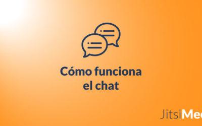 Cómo funciona el chat de Jitsi Meet
